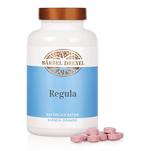 BÄRBEL DREXEL® Regula Presslinge Kirsch/Orange, Inulin Kapseln Ballaststoffe Darm (280 Stk) 100% Vegane Herstellung Deutschland Inulin Ernährung Probiotika
