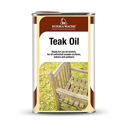 BORMA WACHS Teak Oil 1 LT (Trasparente - cod. 0070)