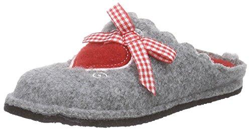 Softwaves Mädchen 542 131 Pantoffeln, Grau (Grey 208), 30