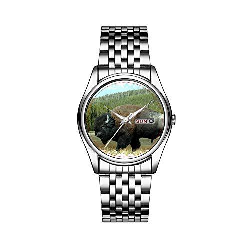Reloj de pulsera para hombre de lujo, resistente al agua, 30 m, con fecha, reloj de pulsera deportivo, de cuarzo, regalo informal