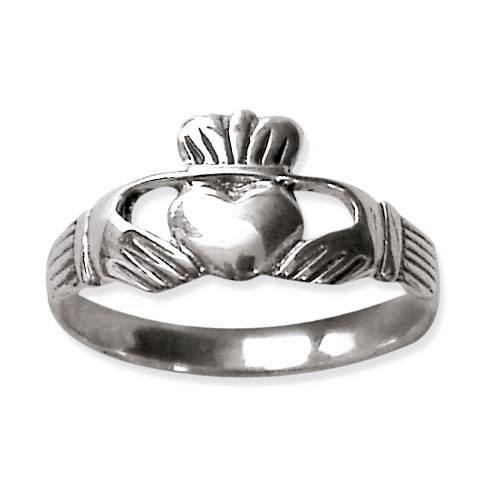 Claddagh Ring Celtic Ehering Freundschaftsring Verlobungsring (65 (20.7))