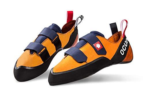 Ocun Crest QC Kletterschuhe orange Schuhgröße UK 9 | EU 43 2021 Boulderschuhe