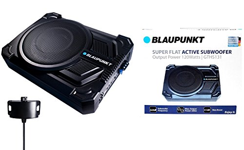 BLAUPUNKT GTHS131 200W 10' CAR Under SEAT Super Slim Powered SUBWOOFER Enclosed