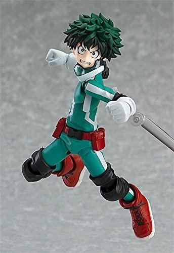 Liiokiy Anime Figure My Hero Academia Carácter Midoriya Izuku Figura de acción Modelo Hecho A Mano Modelo Animación Personaje Modelo Arte Estatuas Juegos Anime Decoración Arte Regalo 17cm