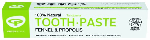 The Green People Company 50 ml Organic Fennel Toothpaste - 2-Pack