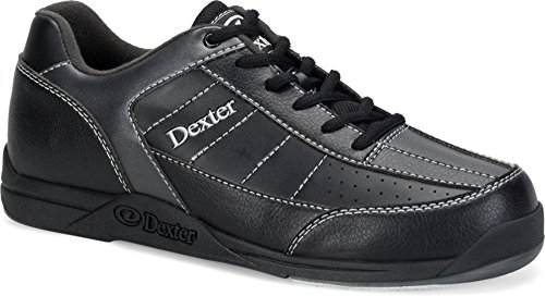 Dexter Youth Ricky III Junior Bowling Shoes, Size 5, Black/Alloy