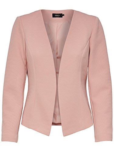 ONLY Damen ONLANNA Short TLR NOOS Blazer, Rose Smoke, 40