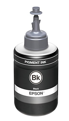 Epson Serie 774 EcoTank, Flacone di Inchiostro a Pigmenti, 140 ml, Nero, con Amazon Dash Replenishment Ready