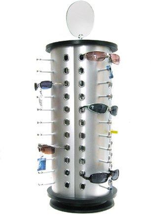 Theken - Brillenständer für 44 Brillen mit Spiegel