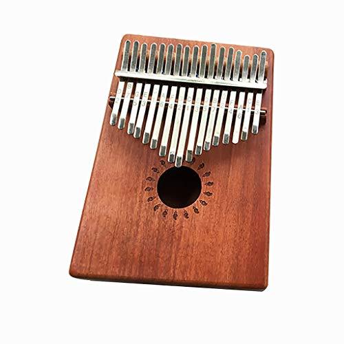 Why Choose LUORATA 2020 Hit Thumb Pianos 17 Keys Thumb Piano Tuning Hammer and Study Instruction- Gi...