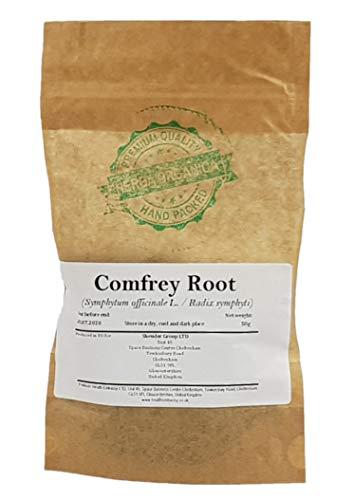 Beinwellwurzel / Symphytum Officinale L / Comfrey Root # Herba Organica # Gemeiner Beinwell, Wallwurz, Komfrei (50g)