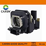 ET-LAX100 Replacement Projector Lamp for Panasonic PT-AX100 PT-AX100E PT-AX200 PT-AX200E PT-AX200U, Lamp with Housing by CARSN