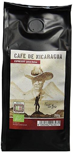 Chavalo Espresso aus Nicaragua ganze Bohne Bio, 3er Pack (3 x 250 g)
