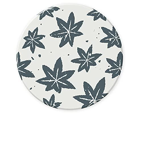 CNYG Posavasos reutilizable para taza redonda para el hogar, restaurante, oficina y bar C03, 10,3 x 10,3 x 0,8 cm