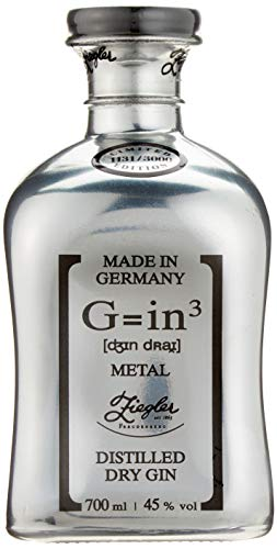 Ziegler G=in³ Classic Dry Gin Metal Platin Limited Edition (1 x 0.7 l)