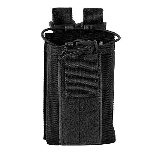 Molle Interphone Pouch, Molle Talkie Tasche, 1000D Nylon, Verstellbare Radio Halterung, Talkie Tasche für die Jagd