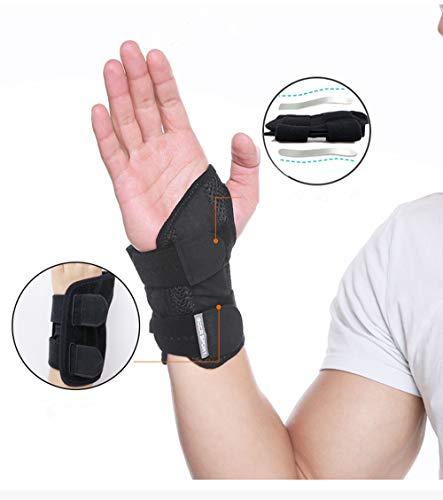 DYM Handgelenkstütze Klammer Tastatur Trainingsgriff Palm Protector Straps Kunststoff Stahl (Recht)