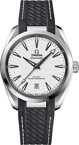 Omega Seamaster Aqua Terra automatico orologio da uomo quadrante argento 220.12.38.20.02.001