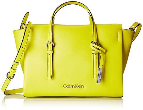Calvin Klein Damen Avant Small Tote Grün (Lime), 12x22x24.5 cm
