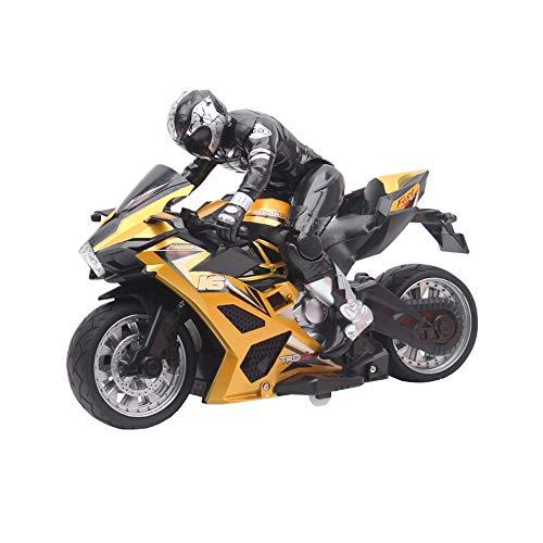Tastak Fernbedienung der Kinder-Fernbedienung Motorrad-Spielzeug-Übergroß-Motorrad-Stunt-Fernbedienung Auto-Drift-Ladung Racing-Fernbedienung Motorrad Modell RC-Jungen-Geschenkspielzeug 3-6 Jahre alt