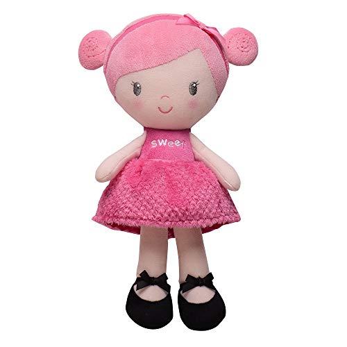 Baby Starters Plush Snuggle Buddy Baby Doll, Sweet Rosie
