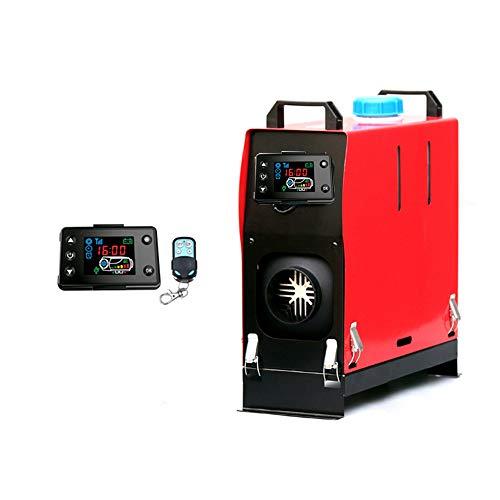 LZHYA Calentador De Estacionamiento Diesel, 12 / 24V 5KW, Pantalla LCD, Control Remoto, Accesorios Completos,Calentador De Aire Diésel, Calefacción Estática Furgoneta Diesel Calentador Coche (12V)