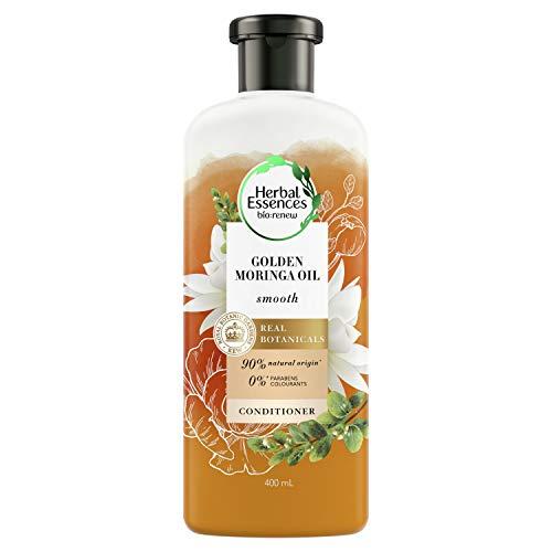 Herbal Essences Golden Moringa Oil Après-shampoing lisse, 400 ml