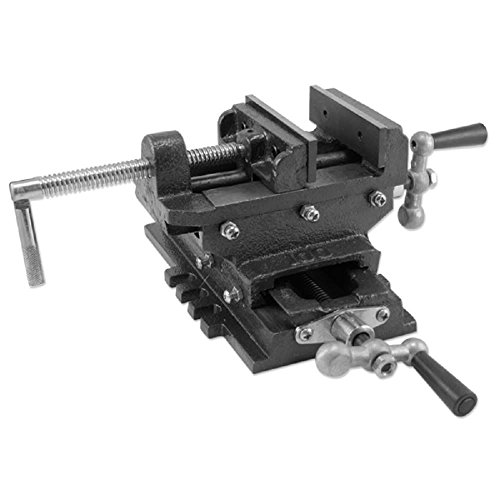 Fantastic Prices! 5 Cross Drill Press Vise Slide Metal Milling 2 Way X-y Clamp Machine Heavy Duty