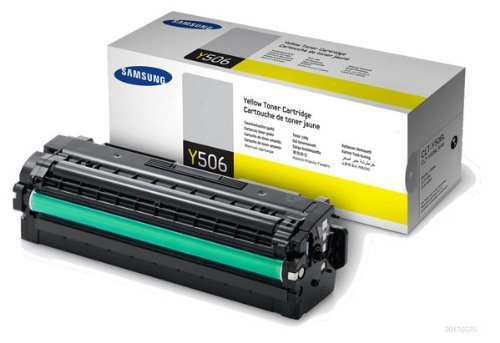 Original Samsung© CLT-Y506L Yellow Toner Cartridge - 3,500 Yield Photo #1