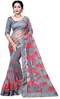 62b7c10844d54b Net Women's Sarees: Buy Net Women's Sarees online at best prices in ...