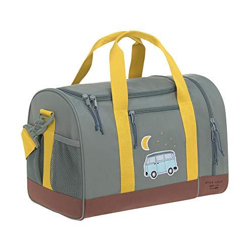 LÄSSIG Sporttasche Kinder Sportbeutel mit Umhängeriemen/Mini Sportsbag, Adventure Bus, 40 cm, 19 L
