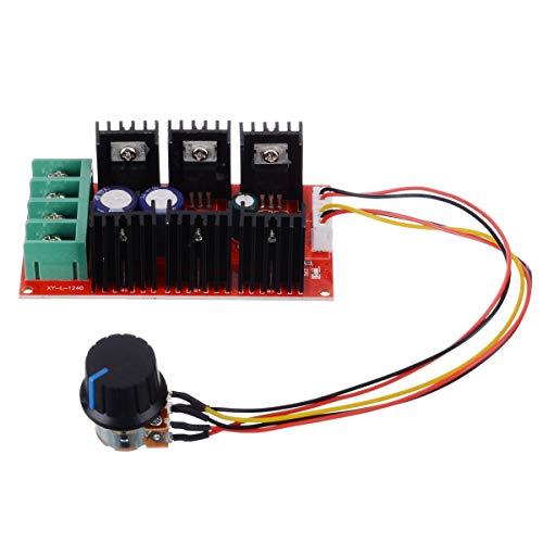 BoMiVa - 1Pcs DC 12V 24V 48V Motor Speed Control 9-50V 2000W 40A Motor Speed Control Module PWM HHO RC Controller