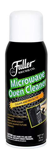 Fuller Brush Microwave Oven Cleaner -No Fume Commercial Micro Foam Cleaning Spray & Deodorizer For Convection Ovens & Turbo - Clean, Odor & Grease Kitchen Appliances