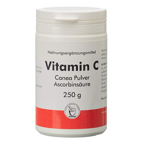 Vitamin C Canea Pulver Dose, 250 g Poeder
