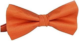 orange stripe bow tie Shirt Box-packed orange bowknot Bridegroom Business Show for male