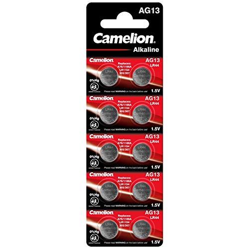 Camelion Hg Quick silb Erfrei AG131.5V Button Cell Battery LR44, A76, GP76A, 357, SR44W