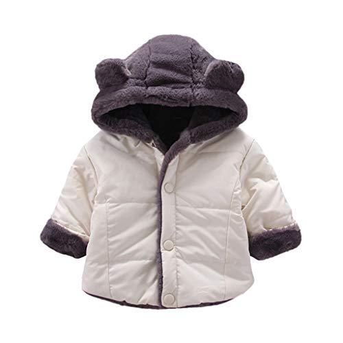 Review Of Baby Girls Winter Fleece Coat, Toddler Kids Cold Weather Hoodie Snowsuit Cartoon Bear Ear ...