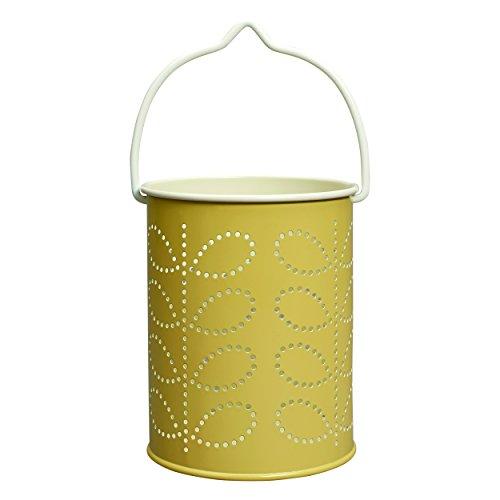 Orla Kiely Linear Stem Teelicht Laterne–Gelb