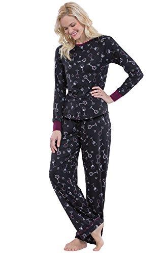 PajamaGram Fun Womens Pajama Set