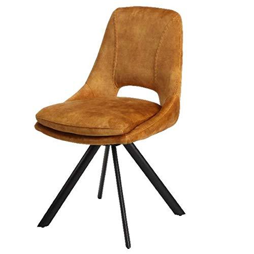 Juego de 4 sillas TANY (Curry)