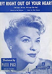 Left Right Of Your Heart (Hi-Lee Hi-Lo Hi-Lup-Up-Up): as performed by Patti Page, Single Songbook (English Edition)