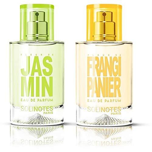 Sonnenmischung: Jasmin Eau de Parfum 50 ml und Fleur de Frangipanier Eau de Parfum 50 ml