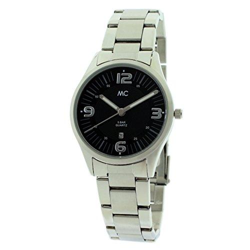 MC Timetrend Damen-Armbanduhr komplett Edelstahl Analog Quarz 51450