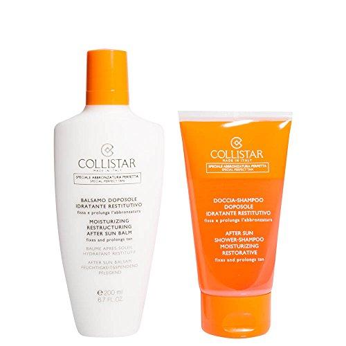 Collistar Kit Solare Doposole balsamo idratante restitutivo 200 ml + in REGALO doccia shampoo doposole 150 ml