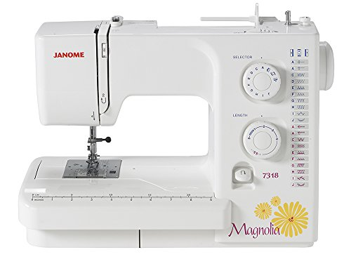 SYS Score: 7.8 | Janome Magnolia 7318 Sewing Machine with Exclusive Bundle