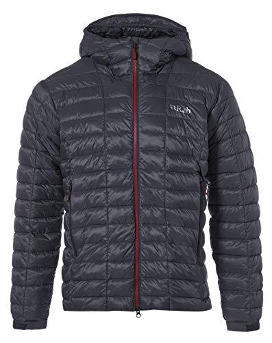 RAB Mens Nebula Pro Jacket Beluga/Steel (Medium)