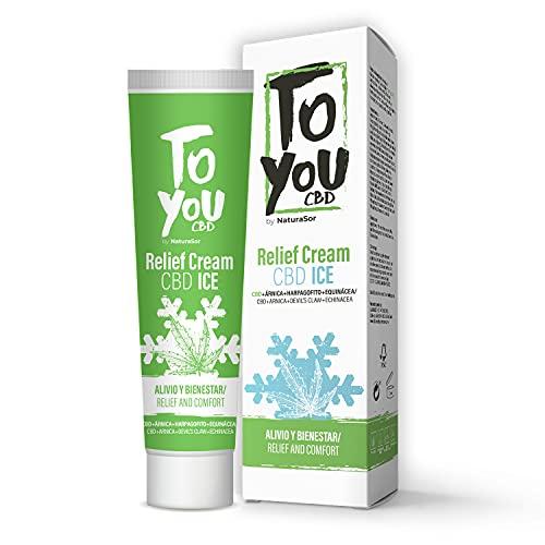 LABORATORIOS NATURASOR - Crema de Cáñamo Intensiva , Gel Efecto Frio, Calmante y Relajante, para Músculos y Articulaciones.