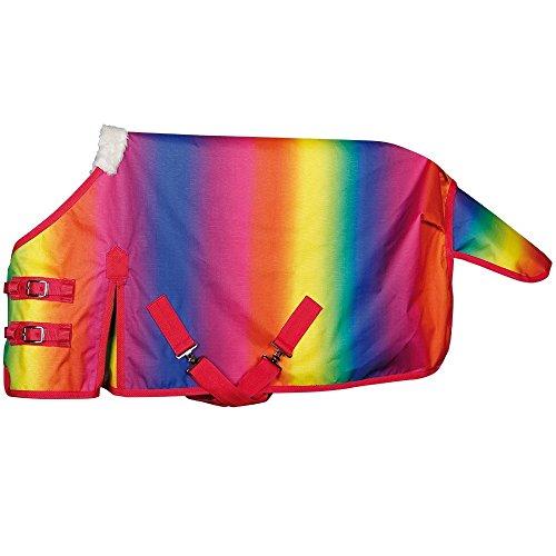 netproshop Regendecke Design Rainbow ungefüttert, Größe 75+80 cm, Groesse:75
