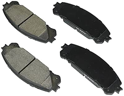 Bosch BE1324H Blue Disc Brake Pad Set with Hardware for Select Lexus and Toyota Cars, SUVs, and Vans - FRONT