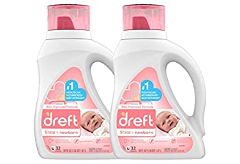Dreft Baby Laundry Detergents, Stage 1 Liquid Baby Detergent